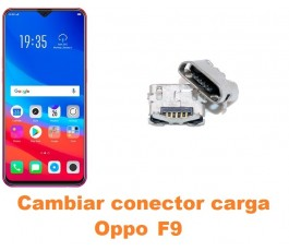 Cambiar conector carga Oppo F9