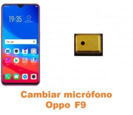 Cambiar micrófono Oppo F9