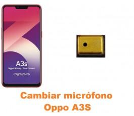 Cambiar micrófono Oppo A3S