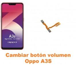 Cambiar botón volumen Oppo A3S