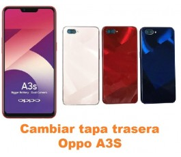 Cambiar tapa trasera Oppo A3S