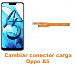 Cambiar conector carga Oppo A5