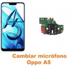 Cambiar micrófono Oppo A5