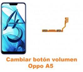 Cambiar botón volumen Oppo A5