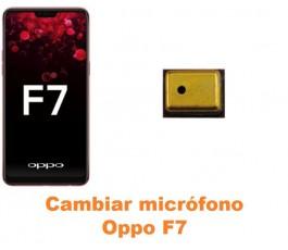 Cambiar micrófono Oppo F7