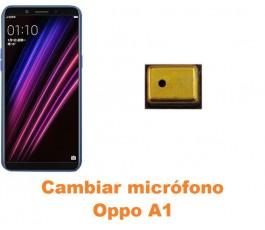 Cambiar micrófono Oppo A1