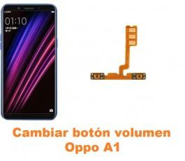 Cambiar botón volumen Oppo A1