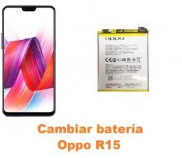 Cambiar batería Oppo R15