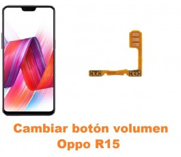 Cambiar botón volumen Oppo R15