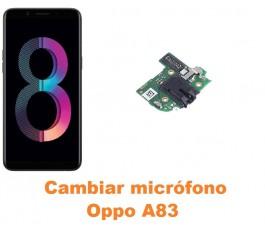Cambiar micrófono Oppo A83