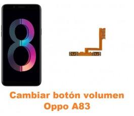 Cambiar botón volumen Oppo A83