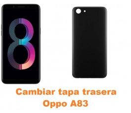 Cambiar tapa trasera Oppo A83