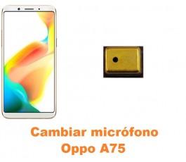 Cambiar micrófono Oppo A75