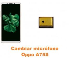 Cambiar micrófono Oppo A75S