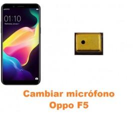 Cambiar micrófono Oppo F5