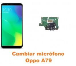 Cambiar micrófono Oppo A79