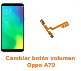 Cambiar botón volumen Oppo A79
