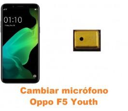 Cambiar micrófono Oppo F5...