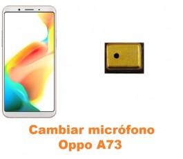 Cambiar micrófono Oppo A73