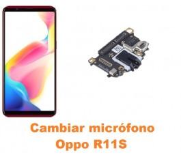 Cambiar micrófono Oppo R11S