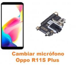 Cambiar micrófono Oppo R11S...