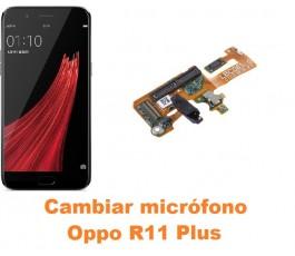 Cambiar micrófono Oppo R11...