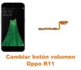 Cambiar botón volumen Oppo R11