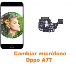 Cambiar micrófono Oppo A77