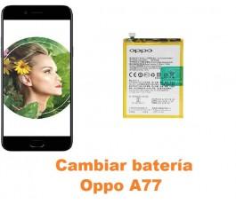 Cambiar batería Oppo A77