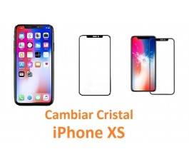 Cambiar cristal iPhone XS