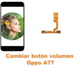 Cambiar botón volumen Oppo A77