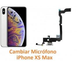 Cambiar micrófono iPhone XS...
