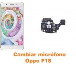 Cambiar micrófono Oppo F1S