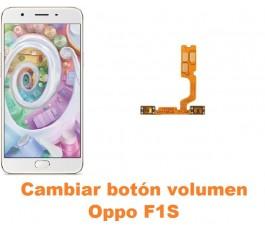 Cambiar botón volumen Oppo F1S