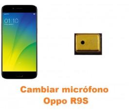 Cambiar micrófono Oppo R9S