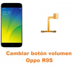 Cambiar botón volumen Oppo R9S