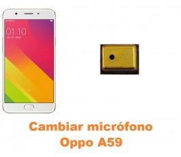 Cambiar micrófono Oppo A59