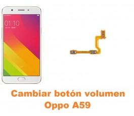 Cambiar botón volumen Oppo A59