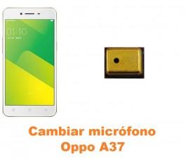 Cambiar micrófono Oppo A37