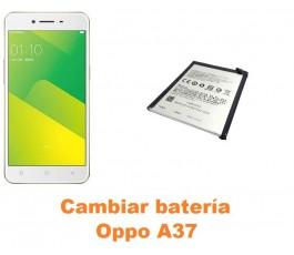 Cambiar batería Oppo A37