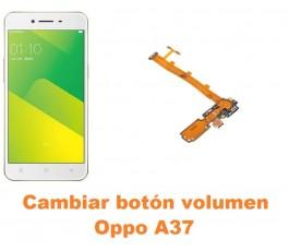 Cambiar botón volumen Oppo A37