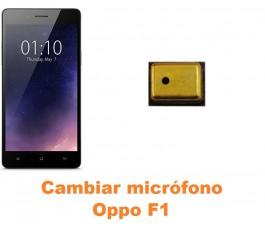 Cambiar micrófono Oppo F1