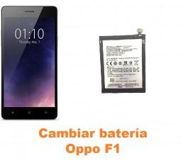 Cambiar batería Oppo F1