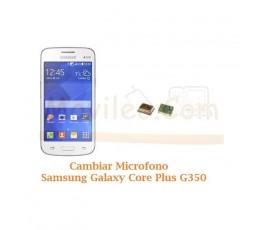 Cambiar Microfono Samsung Galaxy Core Plus G350 - Imagen 1