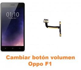 Cambiar botón volumen Oppo F1