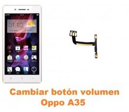 Cambiar botón volumen Oppo A35