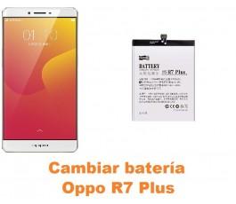 Cambiar batería Oppo R7 Plus