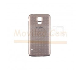 Caracasa Tapa Trasera Dorada para Samsung Galaxy S5 G900F - Imagen 1