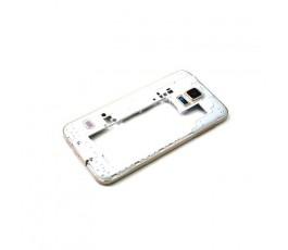 Carcasa Intermedia Marco Lateral para Samsung Galaxy S5 G900F Dorada - Imagen 1