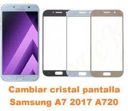 Cambiar cristal Samsung A7...